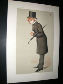 Vanity Fair Print 1875 Sir Thomas Bazley